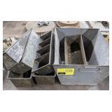 Lot of Metal Trays
