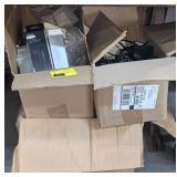 Box of Electronics Incl Microsoft Surface Docking