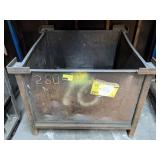 Metal Container w/ SS Scrap. 37x37x31