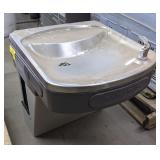 Halsey Taylor Stainless Steel Drinking Fountain,