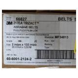 3M Trizact Abrasive Belt. Grade A6. Size 2in x