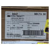 3M Trizact Abrasive Belts. Grade A6. Size 2in x