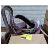 Box of Various Abrasive Belts