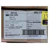 3M Cloth 302D Belts. Grade P320. Size 2in x 132in