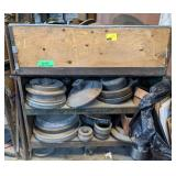 Industrial Cart with Contents