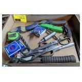 Lot of Scissors, Razor Blades, and more