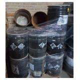 Pallet of Empty Barrels