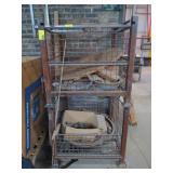 """Metal Storage Basket, 33""""T x 34.5""""W x 40.5""""D"""