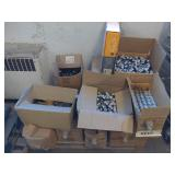 Pallet of Lamp Parts-Sockets and more