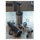 Small Tank w/Valves & Dispenser