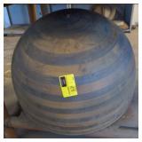 Large Vtg Spin Press bowl/shade Mold