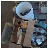 Pallet of Electrical Parts & Fittings