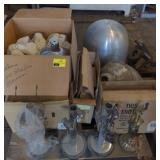 Pallet of Various Lamps and Shades