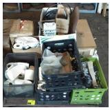 Pallet w/Electrical Parts etc
