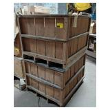 Wood Crates of Arm Lamps