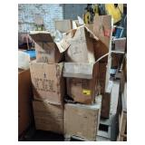 Pallet of Art Specialty Lamps