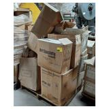 Pallet of Lamp Shades and Bases