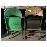 Set of Folding Chairs