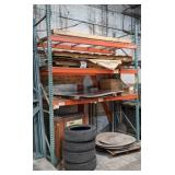 Pallet Racking. Two Uprights and Six Horizontals