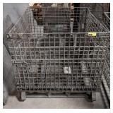 Large Wire Metal Basket. 40x40x38