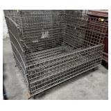 Large Wire Metal Basket. 48x40x36