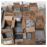 Pallet of Various Bolts and Screws