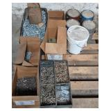 Pallet of Threaded Stock/Bolts