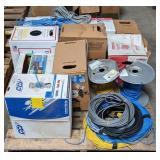 Pallet of Various Wiring