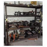 Homemade Tube Stock and Plate Steel Shelving