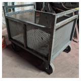 Industrial Metal Cart. 39x31x35