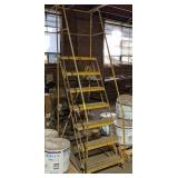 Roll-EZY 6ft Rolling Stair Case
