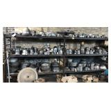 Large Metal Shelving Unit, Contents NOT included,