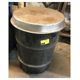Empty Metal Barrel