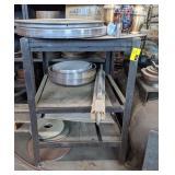 """Metal Storage Shelf, 40""""T x 28.5""""W x 28.5""""D"""