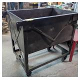 Metal Basin on Casters