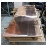 "Six Sheets of Copper, 36"" x 96"""