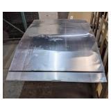 """3 1/2 Sheets of Aluminum, 48"""" x 72"""""""