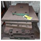 Lot of Thick Steel Plates