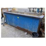 Metal Tank w/ Liner. 95x24x37