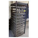 Equipto Shelving Cart. 36x24x60