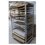 Industrial Cart. 44x27x75