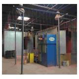 Nordson Powder Coating System. Includes Booth,