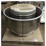Dayton Downblast Ventilator, Belt, Roof, Motor