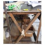 Metal shop table 10