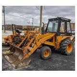 Case 580B Front Loader Backhoe