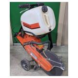 Husqvarna 371k Concrete Saw
