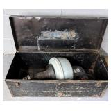 Chicago Electric Power Snake & Metal Toolbox,