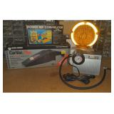 Lot w/ Traffic Reflector, Mini Air Compressors,
