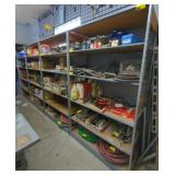 "Metal Shelving Unit, 84""T x 48""W x 24""D *bidder"