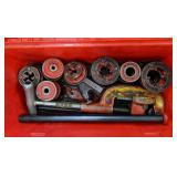 Toledo Pipe Threader Set w/ Ridgid Pipe Cutter
